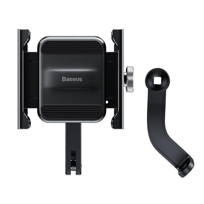 baseus knight motorcycle holder (applicable for bicycle) black - baseus 6953156210608 1 1