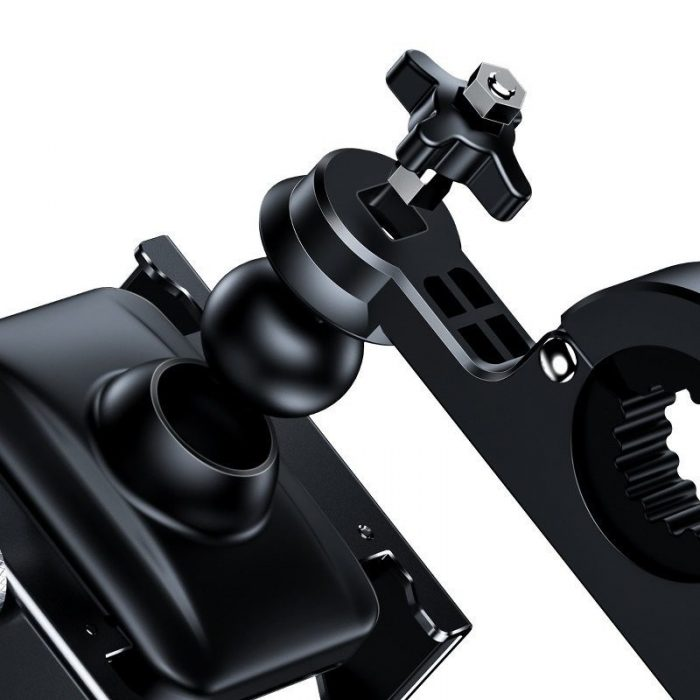 baseus knight motorcycle holder (applicable for bicycle) black - baseus 6953156210608 4 1