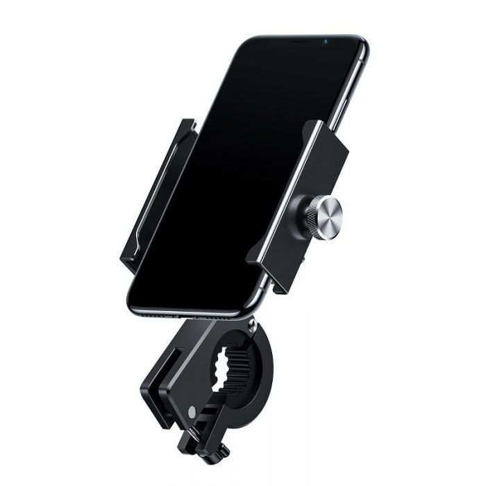 baseus knight motorcycle holder (applicable for bicycle) black - baseus 6953156210608 8