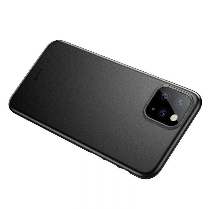 baseus wing case for iphone 11 pro 5.8inch (2019) solid black - baseus 6953156211117 2