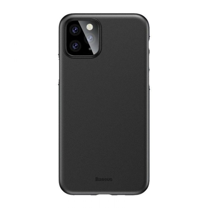 baseus wing case for iphone 11 pro 5.8inch (2019) solid black - baseus 6953156211117