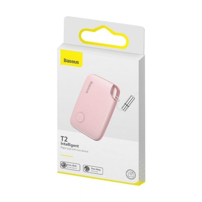 baseus intelligent t2 ropetype anti-loss device pink - baseus 6953156214958 5 1