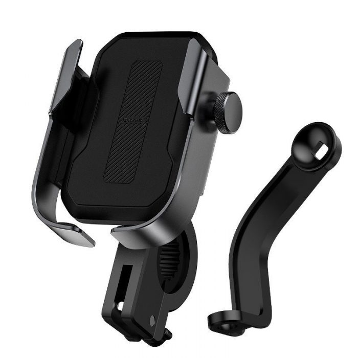 baseus armor motorcycle holder(applicable for bicycle)black - baseus 6953156217546 1 1