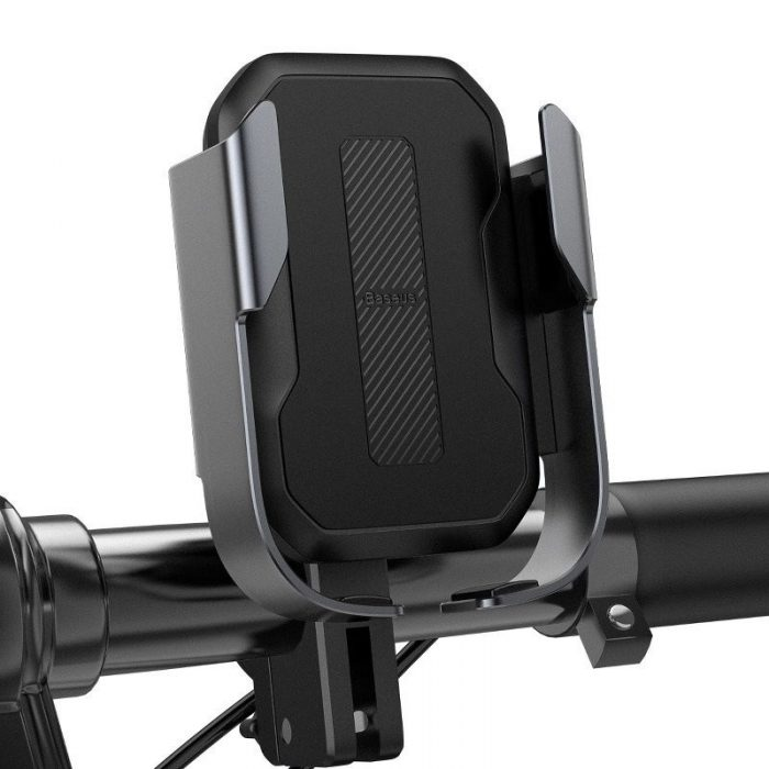 baseus armor motorcycle holder(applicable for bicycle)black - baseus 6953156217546 4 1