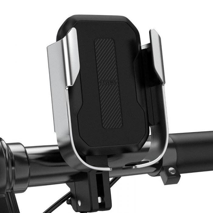 baseus armor motorcycle holder(applicable for bicycle)silver - baseus 6953156217553 6 1