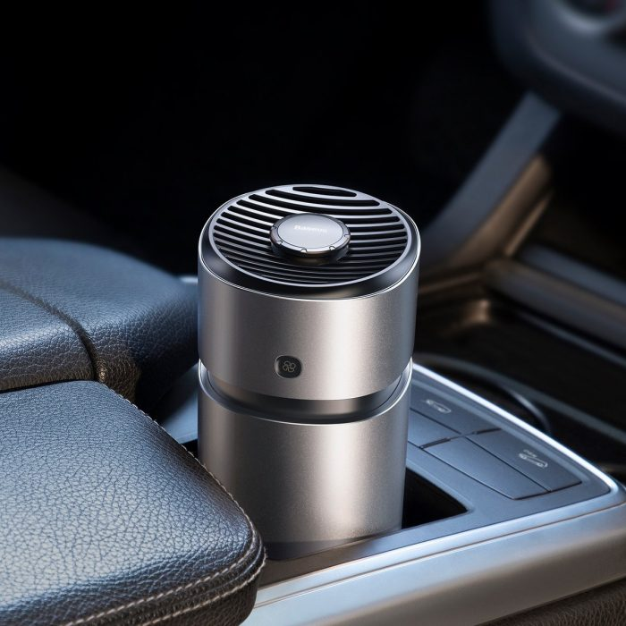 breeze fan air freshener pro vehicles (with formaldehyde purification function) silver - baseus 6953156219588 4 1
