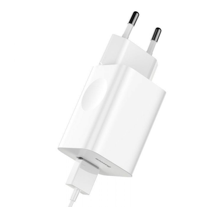 baseus quick charge 3.0 travel wall charger - baseus 6953156272446 1