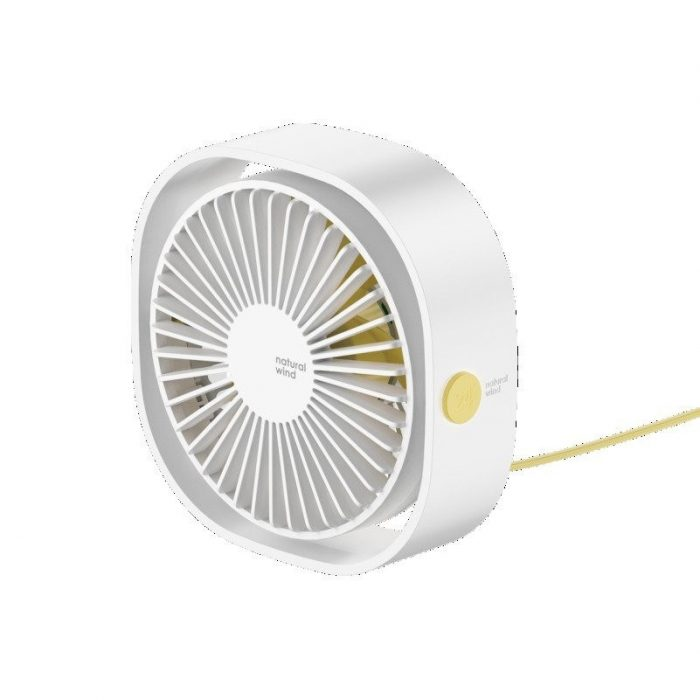 baseus mini desktop fan white - baseus 6953156273634 4