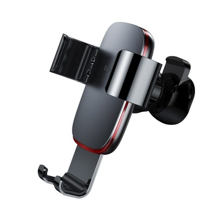 baseus gravity air vent car mount gray - baseus 6953156276253 8