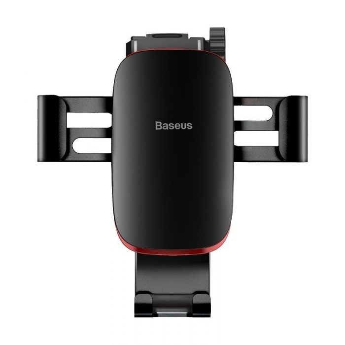 baseus metal age gravity car mount (connecting rod type) black - baseus 6953156276307 3 1