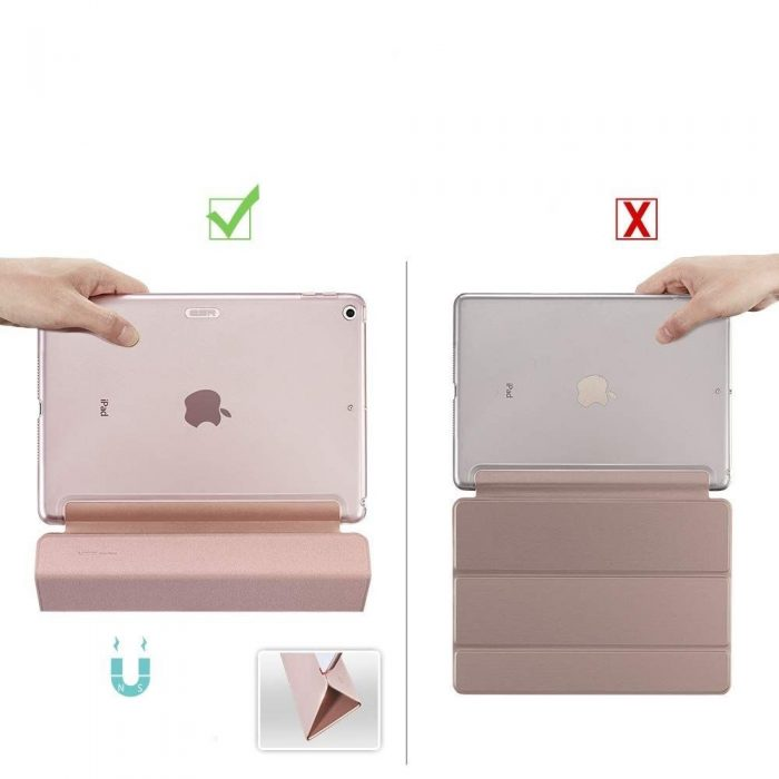 ESR Yippee Apple iPad 10.2 2019 Rose Gold - ESR 4894240096604 6