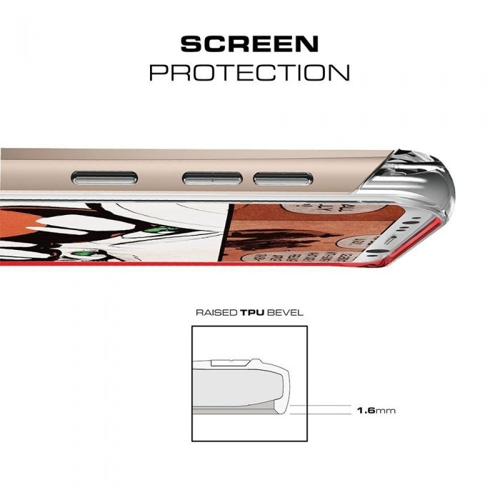 ghostek cloak 2 samsung galaxy s8 gold + screen protector - ghostek 643217499498 3 1