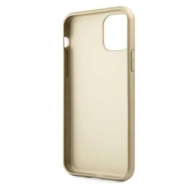 guess guhcn58g4gb iphone 11 pro brown hard case 4g collection - guess 3700740461754 3