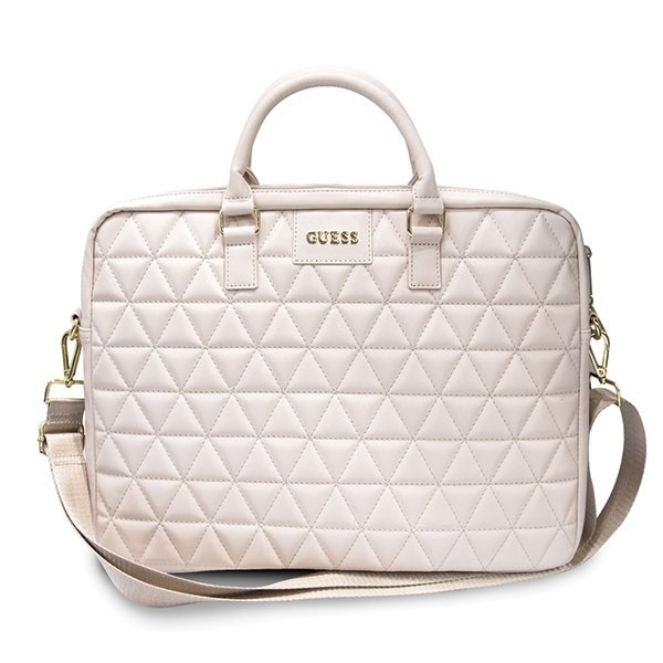 """Guess GUCB15QLPK 15"""" pink Quilted"""