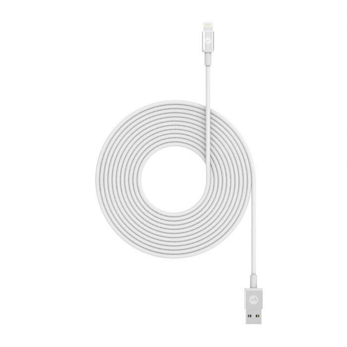 Mophie Lightning - USB-A Cable 3m (white) - Mophie 848467093728 2