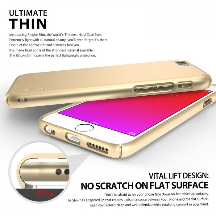 ringke slim apple iphone 6/6s plus crystal - ringke 8809452174268 1