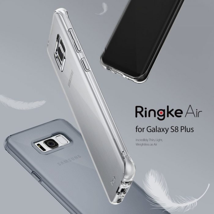 ringke air samsung galaxy s8 plus smoke black - ringke 8809525017799 6 1