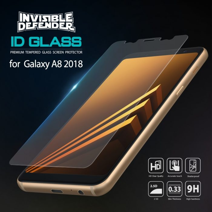 ringke id glass samsung galaxy a8 2018 0.33mm 3 pack - ringke 8809583842487 1 1