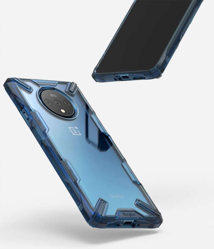 ringke fusion-x oneplus 7t space blue - ringke 8809688895227 5