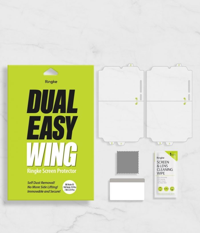 ringke dual easy wing full cover xiaomi mi note 10/note 10 pro [2 pack] - ringke 8809688896736 13