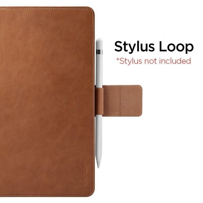 Spigen Stand Folio Apple iPad Air 3 2019 Brown - SPIGEN 8809640256905 3