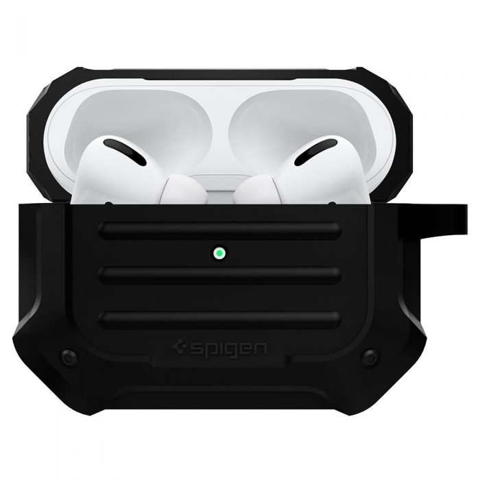 spigen tough armor airpods pro black - spigen 8809685623991 2