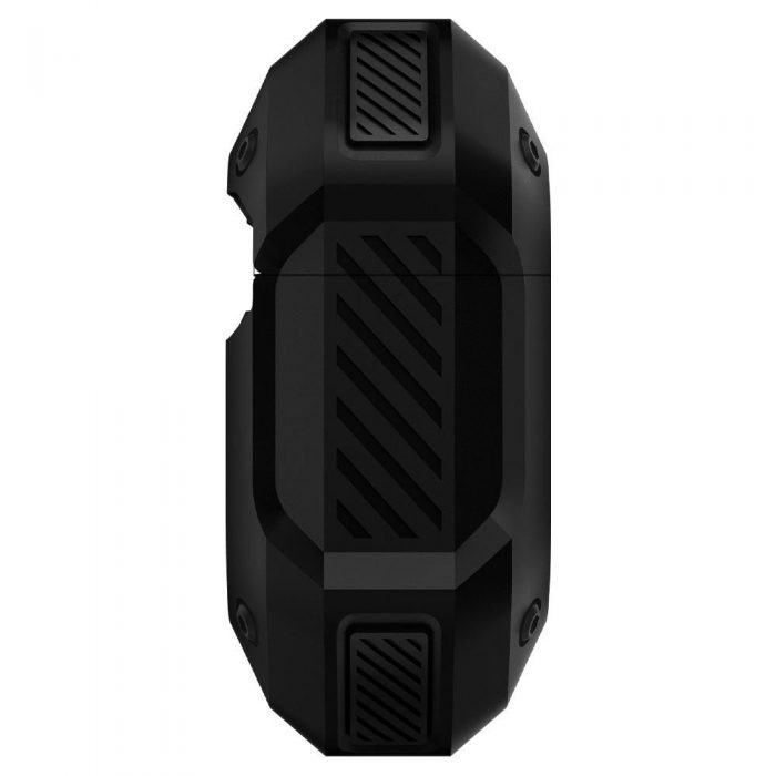 spigen tough armor airpods pro black - spigen 8809685623991 4