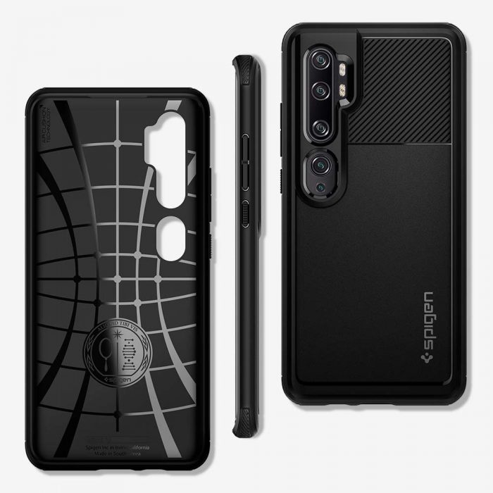 Spigen Rugged Armor Xiaomi Mi Note 10 Black - SPIGEN 8809685624745 5