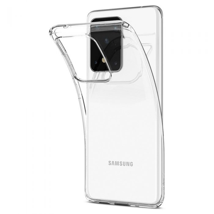 Spigen Liquid Crystal Galaxy S20 Ultra Crystal Clear - SPIGEN 8809685625728 5