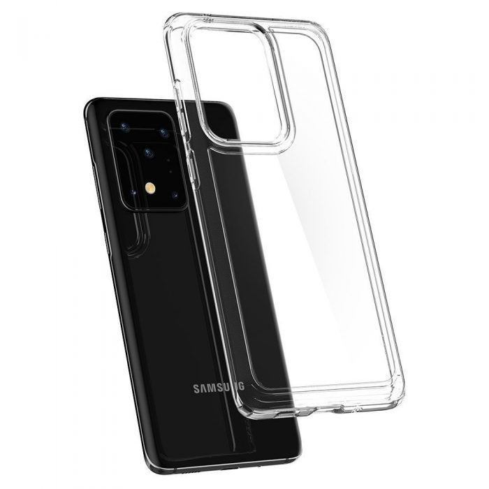 Spigen Ultra Hybrid Galaxy S20 Ultra Crystal Clear - SPIGEN 8809685625766 4