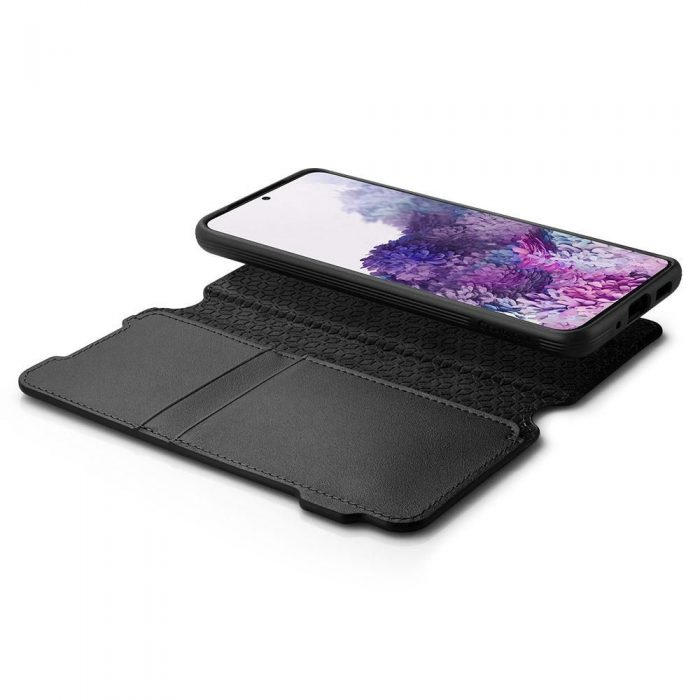 Spigen Ciel Wallet Brick Samsung Galaxy S20+ Plus Black - SPIGEN 8809685626367 4