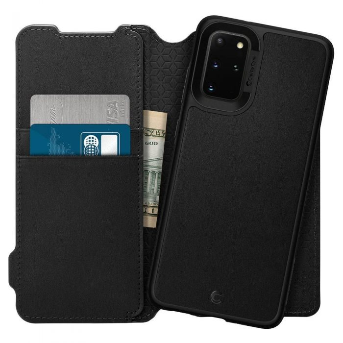Spigen Ciel Wallet Brick Samsung Galaxy S20+ Plus Black - SPIGEN 8809685626367