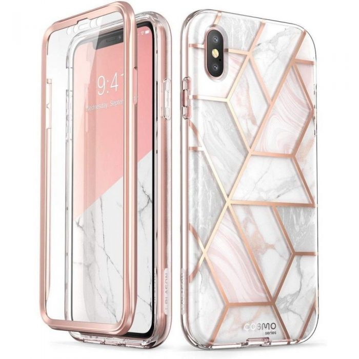 kryt supcase cosmo apple iphone xs max marble - supcase 843439104211