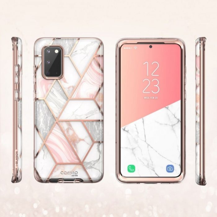 Supcase Cosmo Galaxy S20 Marble - SUPCASE 843439128880 2