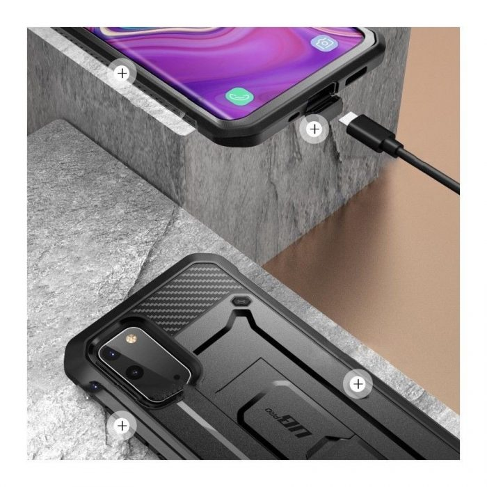 Supcase Unicorn Beetle Pro Galaxy S20 Black - SUPCASE 843439128903 6
