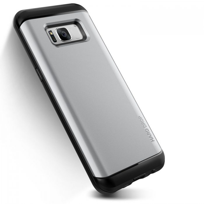 vrs design hard drop samsung galaxy s8 plus light silver - vrs design 8809477686067 1 1