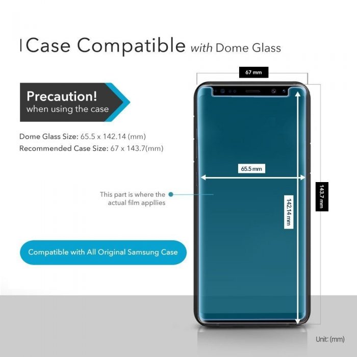 whitestone dome glass samsung galaxy s9 - whitestone dome 8809365402540 7 1