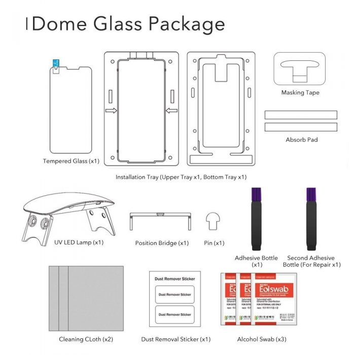 whitestone dome glass samsung galaxy s9 - whitestone dome 8809365402540 8 1