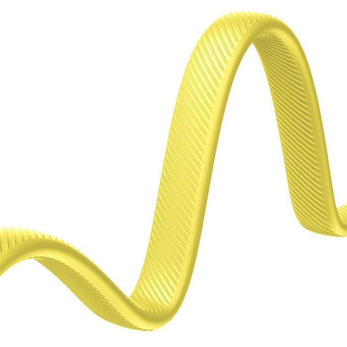 Baseus USB Cable (double-sided plug) - USB Type C 5A 22cm (yellow) - export 362
