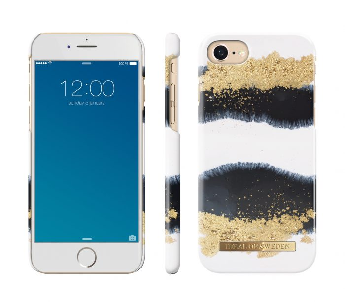 ideal of sweden apple iphone se 2020/8/7/6 (gleaming licorice) - ideal of sweden 7340168709142 1 1
