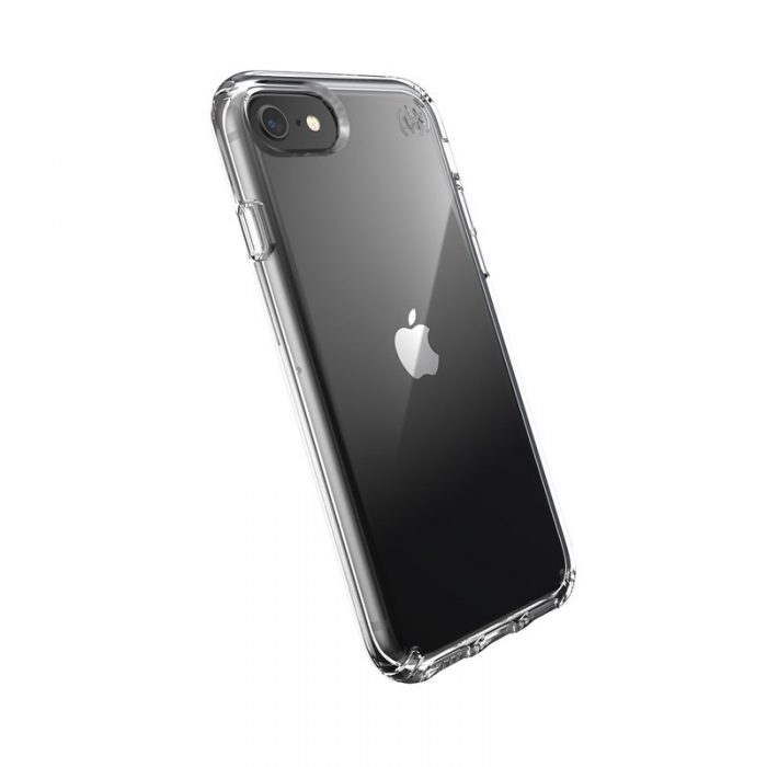 speck presidio perfect clear - kryt iphone se 2020 / 8 / 7 s microban (clear/clear) - export 1044
