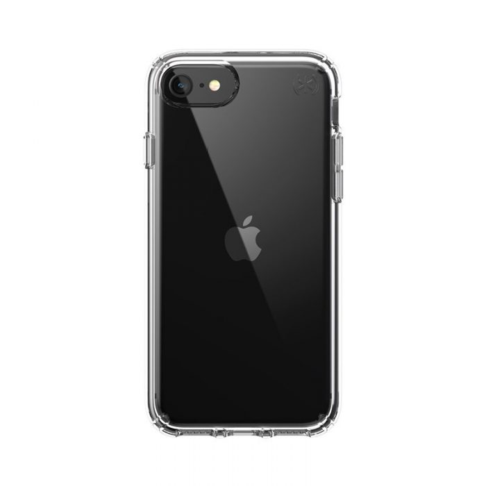 speck presidio perfect clear - kryt iphone se 2020 / 8 / 7 s microban (clear/clear) - export 1045
