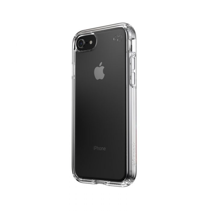 speck presidio perfect clear - kryt iphone se 2020 / 8 / 7 s microban (clear/clear) - export 1055