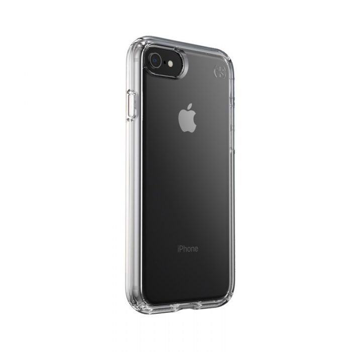 speck presidio perfect clear - kryt iphone se 2020 / 8 / 7 s microban (clear/clear) - export 1056