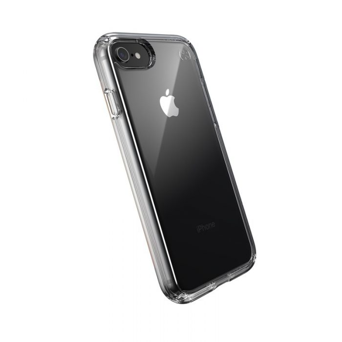 speck presidio perfect clear - kryt iphone se 2020 / 8 / 7 s microban (clear/clear) - export 1057