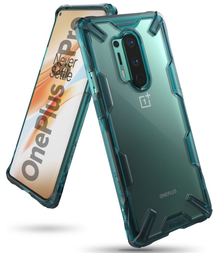 Ringke Fusion-X OnePlus 8 Pro Turquoise Green - export 115