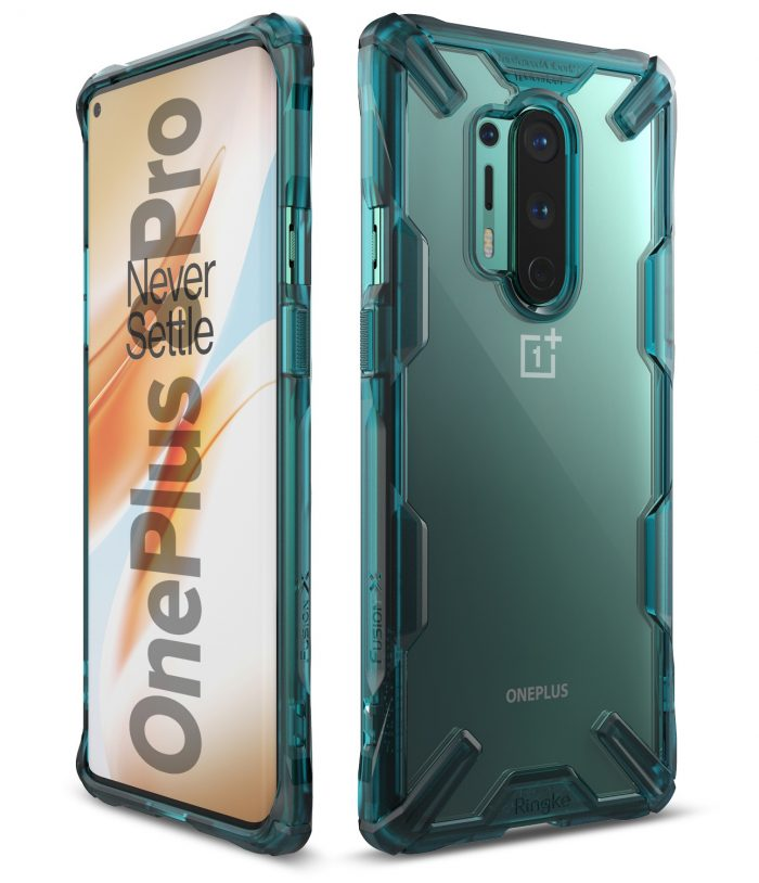 Ringke Fusion-X OnePlus 8 Pro Turquoise Green - export 117