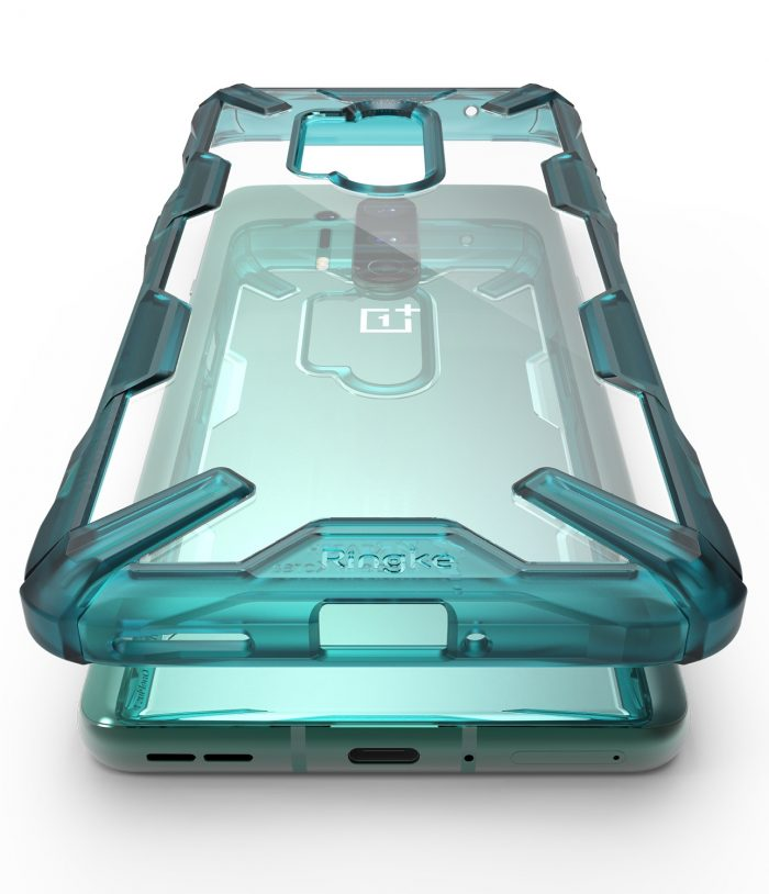 Ringke Fusion-X OnePlus 8 Pro Turquoise Green - export 120