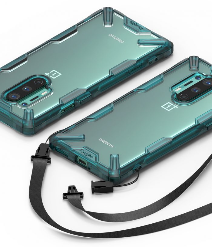 Ringke Fusion-X OnePlus 8 Pro Turquoise Green - export 121