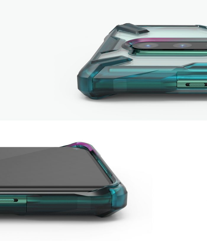 Ringke Fusion-X OnePlus 8 Pro Turquoise Green - export 122